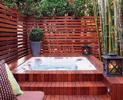 Collection in Small Backyard Hot Tub Ideas Top 10 Beautiful Backyard  Designs Decks Outdoor Spa And