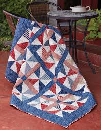95 best Patriotic Quilt Patterns and Projects / Quilts of Valor ... & Everyone loves patriotic quilts, like Summer Picnic by Tricia Lynn Maloney.  Pinwheels and Americana Adamdwight.com