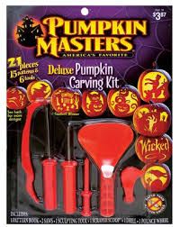 pumpkin carving tools for kids. pumpkin masters® deluxe carving kit: 21 pieces; 15 patterns; safer than tools for kids w