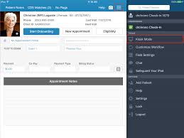 Sign In App Check In App Getting Started With Kiosk Mode Drchrono Customer