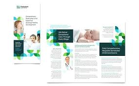 Microsoft Office Tri Fold Brochure Template Wsopfreechips Co