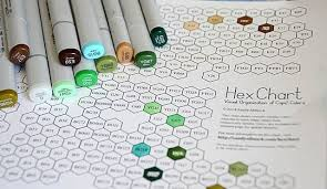 Copic Hex Chart Copic Coloring Tutorial Card Making