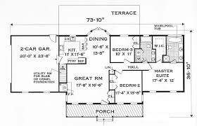 Picturesque Design Ideas Cool One Level House Plans 10 Single Single Level House Plans