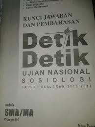 Contoh soal un bahasa indonesia 2015 untuk sekolah menengah ke atas. Jual Kunci Jawaban Detik Detik Sosiologi Sma 2016 2017 Jakarta Pusat Ananda Store08 Tokopedia