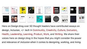 valeria adani valeriaadani twitter 50 thought leaders have contributed essays on design inclusion tech on design blog pic com m6dzqblknc