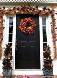 Front Door Garland Ideas