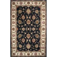 dynamic rugs charisma black indoor handcrafted area rug common 5 x 8 actual