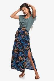 Купить <b>юбку женский Roxy Tropical</b> Chancer Anthracite ...