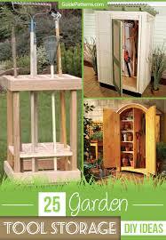 25 garden tool storage diy ideas