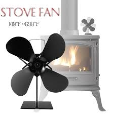 And these electric fireplace logs that don't retain heat are a wonderful accessory to complete the picture. Home Improvement Heat Powered Wood Stove Fan For Wood Gas Log Burner Fireplace Eco Friendly Fan Home Garden