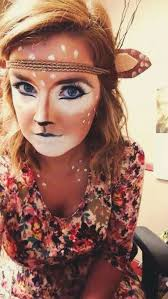 quick easy deer makeup for