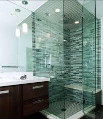 Glass Tile Bathroom Designs Custom Ideas