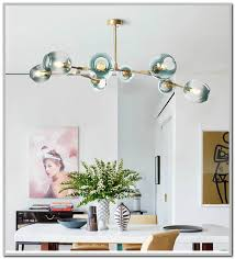 replica lindsey adelman branching bubble chandelier