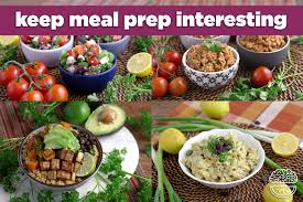 Weekly Lunch Prep Variety Meal Prep How To Change Things Up Mind Over Munch