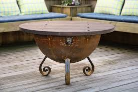 handcrafted table top for ″ firepit (local purchase only)