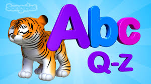 ABC Song | Animals | Q to Z | Alphabet | Nursery Rhymes | Baby Songs | 4K -  YouTube