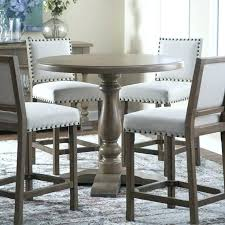 good round bar height table dining room counter lovely breakfast within pub folding and chairs round bar height table