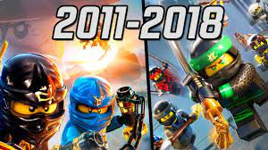 All LEGO Ninjago Games 2011-2018 - YouTube