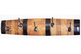 Wine Barrel Coat Rack Barrel stave CoatPot Hanger Wine Barrel Craft 51