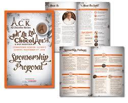 Sponsor Backdrop Design Ooh La La Chocolate 5k Half Marathon Sponsor Packet Hlh