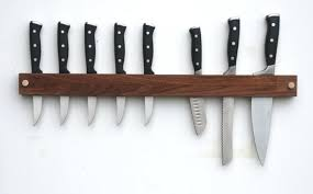 wood knife holders above the inch long walnut knife rack is made in western the similar brothers acacia inch magnet wall bar is wooden magnetic knife holder