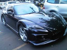 mazda rx8 black modified. mazda rx8 black 2004 harga miring rx8 modified