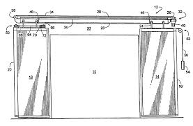 sliding cabinet door track system closet display case shelf