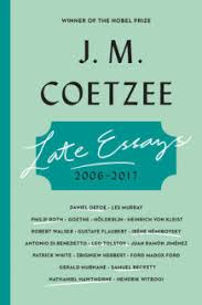 j m coetzee s essays on literature examine the role of the author late essays