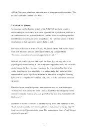 on fight club essay on fight club