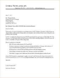 Aesthetic Nurse Cover Letter Registered Nurse Cover Letter Career
