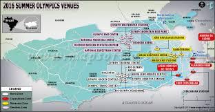 rio olympics venues map