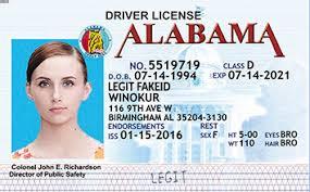 Alabama Id Card Legitfakeid Fake