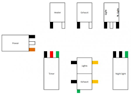 heater vent light wiring diagram