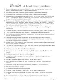 steps to writing essay questions for hamlet hamlet study guide contains a biography of william shakespeare literature essays a complete e text quiz questions major themes characters