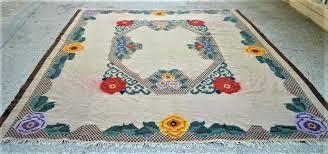 wool kilim rug vintage in the loom west elm palmette chenille