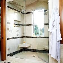 large walk in shower large walk in shower with seating for two large walk in shower
