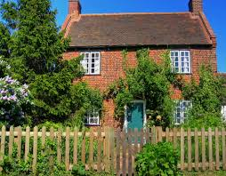 beautiful red brick cottage
