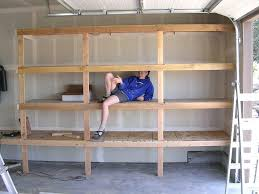 garage shelving plans pictures ideas diy wall . garage shelving diy plans  ...