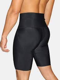 Mens Separated Pouch Compressive Elastic Breathable Tummy Tuck Butt Lift Shapewear Boxer Underwear