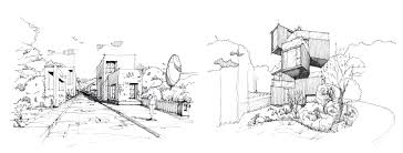 architecture sketch wallpaper. In This Class You Are Going To Learn A Step-by-step Process How Sketch Like An Architect. It Begins With The Very Basics Of Making Straight Lines And Architecture Wallpaper