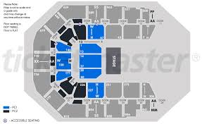 Spark Arena Seating Chart Spark Arena Auckland Tickets Schedule Seating Chart