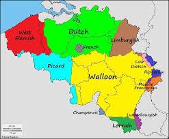 Languages Of Belgium Language Map Netherlands Map
