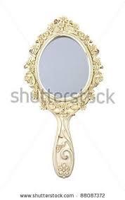 hand holding mirror. Hand Holding Mirror