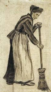 art artists vincent van gogh drawings part  1882 w a broom pencil and watercolour on paper