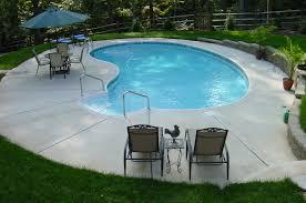 Beautiful Kidney Swimming Pool Design