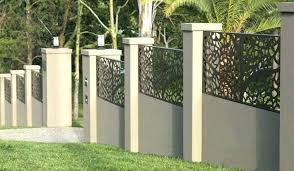 no dig fence panels decorative metal garden fencing exciting powder coated steel panel