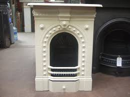 victorian cast iron bedroom fireplace