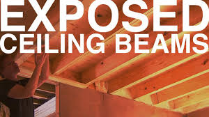 Exposed Ceiling Beams Day  The Garden Home Challenge With P - Exposed basement ceiling