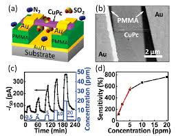 a schematic illustration of the cupc nanowire fet sensors b a a schematic illustration of the cupc nanowire fet sensors b a sem image of the device the nanoawire was floated up by pmma