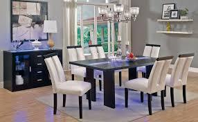 light kitchen table. Kenneth LED Light Dining Table Set Kitchen